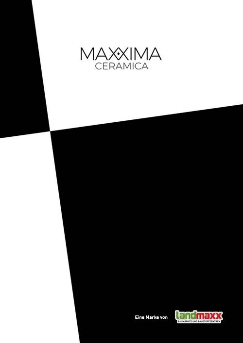 MAXXIMA Ceramica Katalogcover
